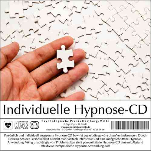 Individuelle Hypnose-CD (Audio-CD)